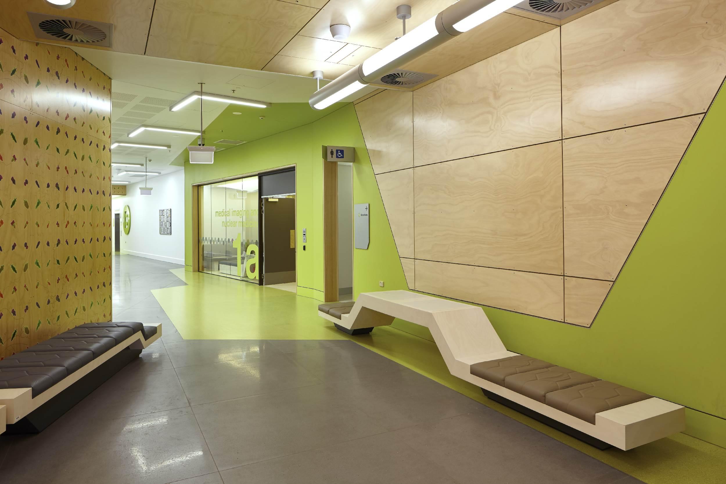 Corridor Design Color: Lady Cilento Childrens Hospital